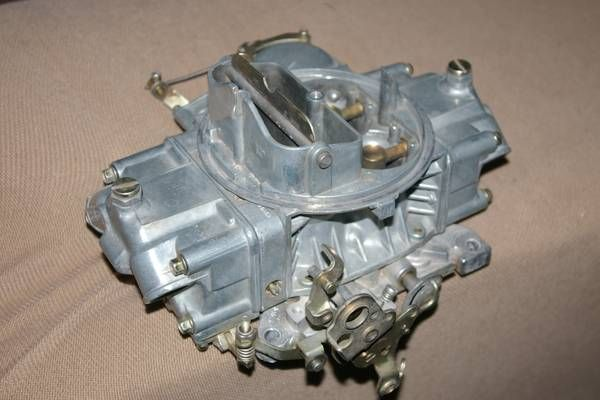 HOLLEY carburetor – auto parts – by owner
