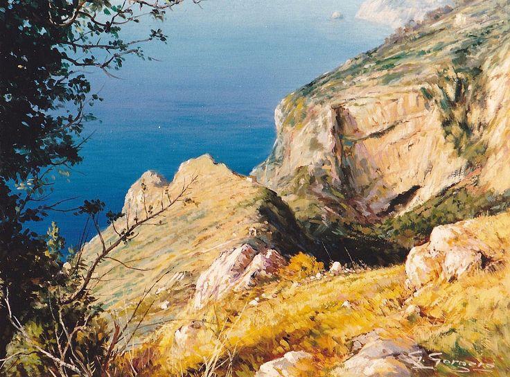 Alta costa Amalfitana by giuseppe gorgero