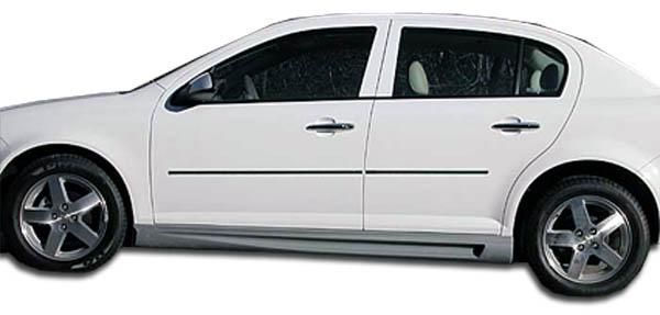 2005-2010 Chevrolet Cobalt 2007-2010 Pontiac G5 4DR Duraflex Racer Side Skirts Rocker Panels - 2 Piece