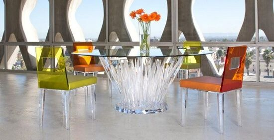 Anti Mainstream with Lucite Transparent Furniture  100 Designs http://ift.tt/2l30tAh All Room Ideas