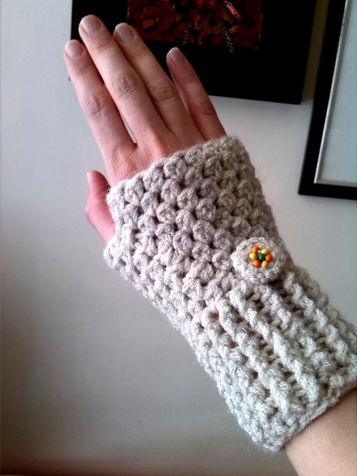 Vistoso Patrón De Crochet Guantes De Mensajes De Texto Fotos - Manta ...