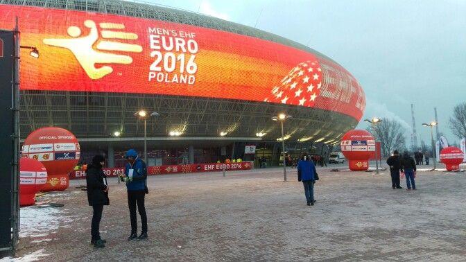 EHF EURO 2016, MEN'S EHF EURO 2016 POLAND FRANCE VS POLAND #MEN'SEHFEURO2016, #POLAND, #KRAKOW