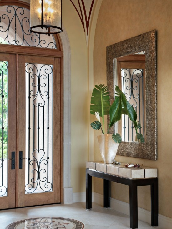 Mediterranean design pictures remodel decor and ideas for Mediterranean style entry doors