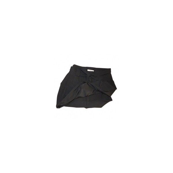 Tulip skirt PRADA Black size 42 IT in Wool Autumn / Winter - 508724 ❤ liked on Polyvore featuring skirts, bottoms, wool skirt, tulip skirts, woolen skirt, prada and prada skirt
