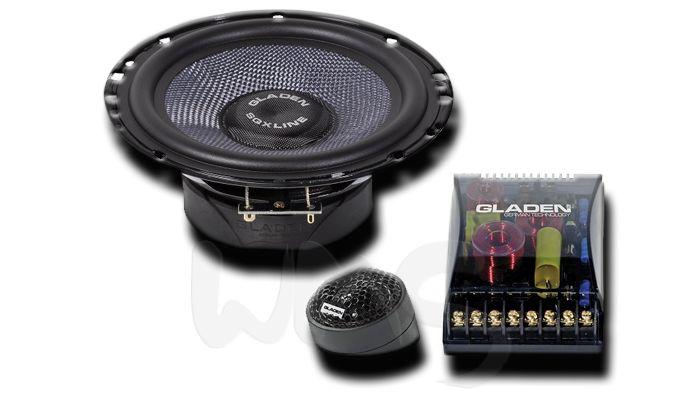 Компонентная акустика Gladen Audio SQX 165, серии SQX-Line