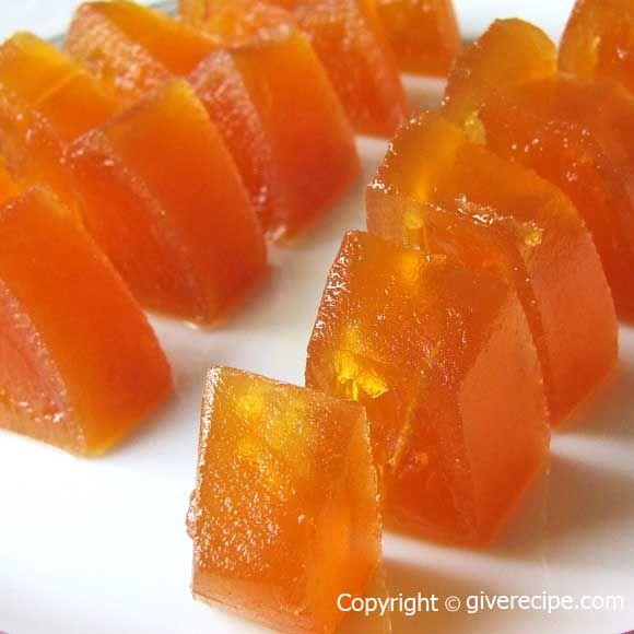 Pumpkin Dessert Candy Version