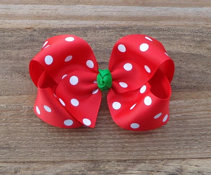 Red Polka Dot Hair Bow~Christmas Hair Bow~Red Hair Bow~Medium/Large Boutique Bow~Holiday Hair Bow~Christmas Bows~Polka Dot Bows~Boutique Bow by LizzyBugsBowtique on Etsy https://www.etsy.com/listing/254110480/red-polka-dot-hair-bowchristmas-hair