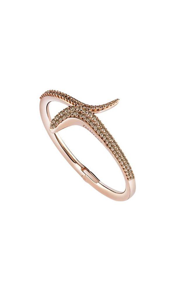 Eden pink gold and brown diamonds bracelet