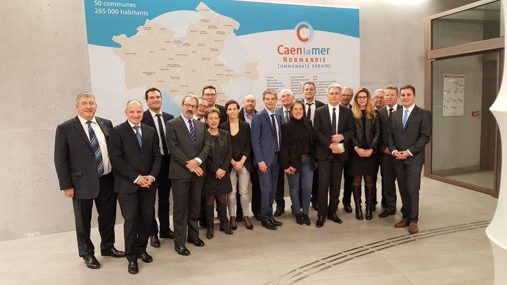 #Calvados : De 35 à 50 communes, Caen la mer devient Communauté urbaine !