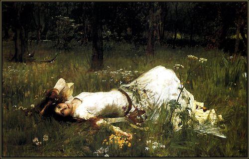 "John Waterhouse - ""Ophelia."""