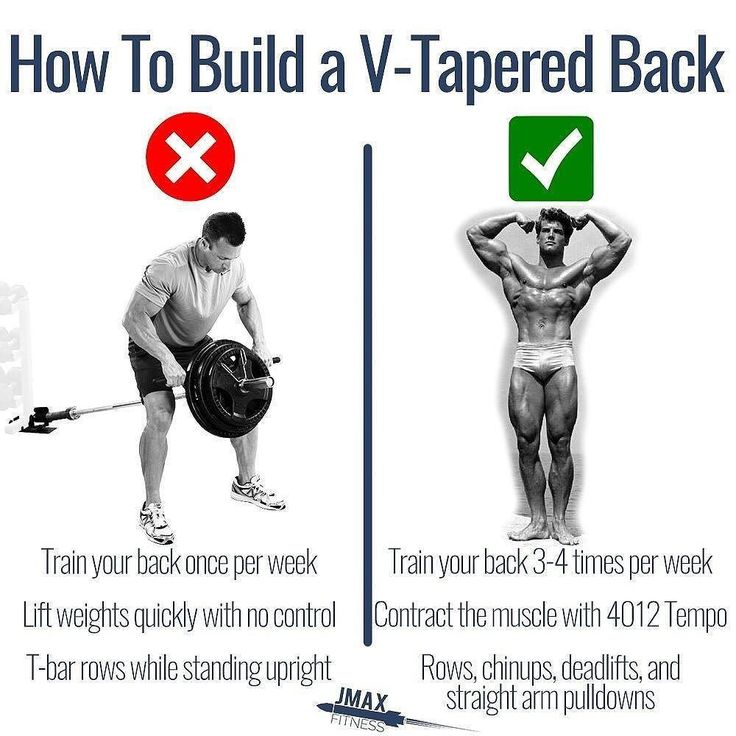 HOW TO BUILD A V-TAPERED BACK - If you want to train your back one of the most important things you need to do is to feel the muscle contracting. Use that mind to muscle connection! Use the force. - If you don't feel your lats working then you're not going to build your back no matter how heavy the weight is. - Let me explain. - My back used to be one of my worst body parts. It made no sense because I was able to bent-over row 225lbs. My problem was that I was just hauling weight without…