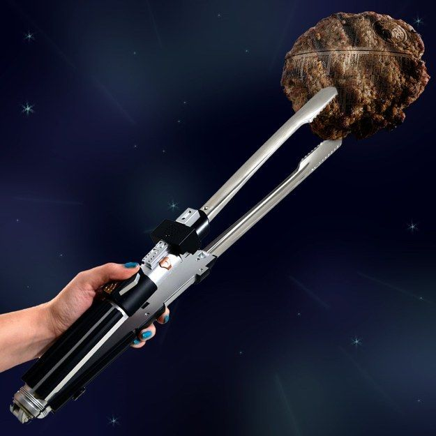 Star Wars Barbeque Tongs   Community Post: 18 Amazing Geeky Kitchen Gadgets And Gear Ideas To Impress Your Friends