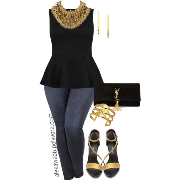 Peplum Statement by alexawebb on Polyvore