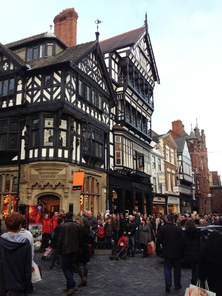 Chester (UK) in Christmas time