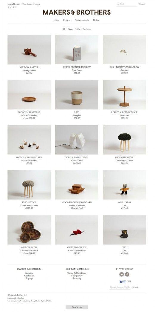 Makers & Brothers Web Design #WebDesign #design #UI #UX #identity #website #SiteDesign #awesome #UserInterface #communication #VisualCommunication #minimalistic #MinimalistDesign