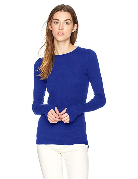 Enza Costa Womens Thermal Crew Top