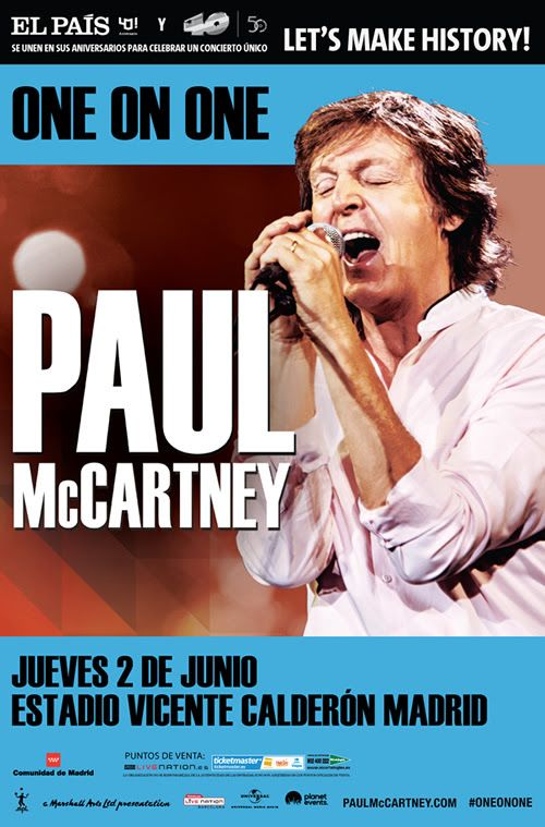 Paul McCartney tocará en el mes de junio en Madrid - http://www.absolutmadrid.com/paul-mccartney-tocara-en-el-mes-de-junio-en-madrid/