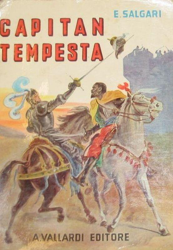 Aneca's World: Capitan Tempesta - Emilio Salgari