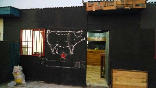 Avances local Pork Shop