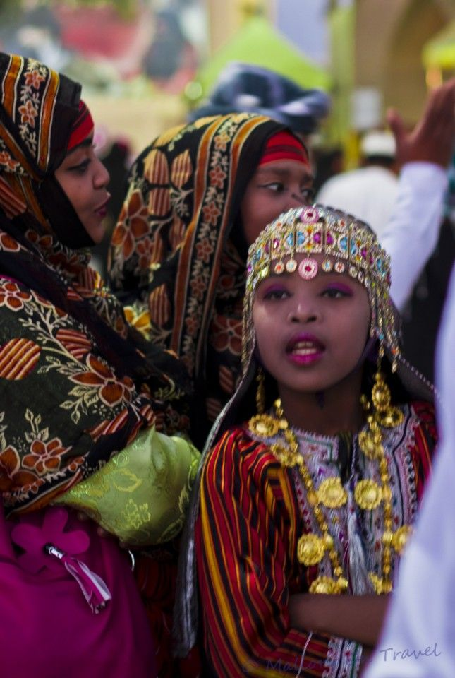 Muscat, Oman – Festival of Faces    Muscat festival in Oman is a little more restrained than some celebrating the culture and heritage of the country but still with plenty of vibrant colour, interesting displays and pageantry of its own.