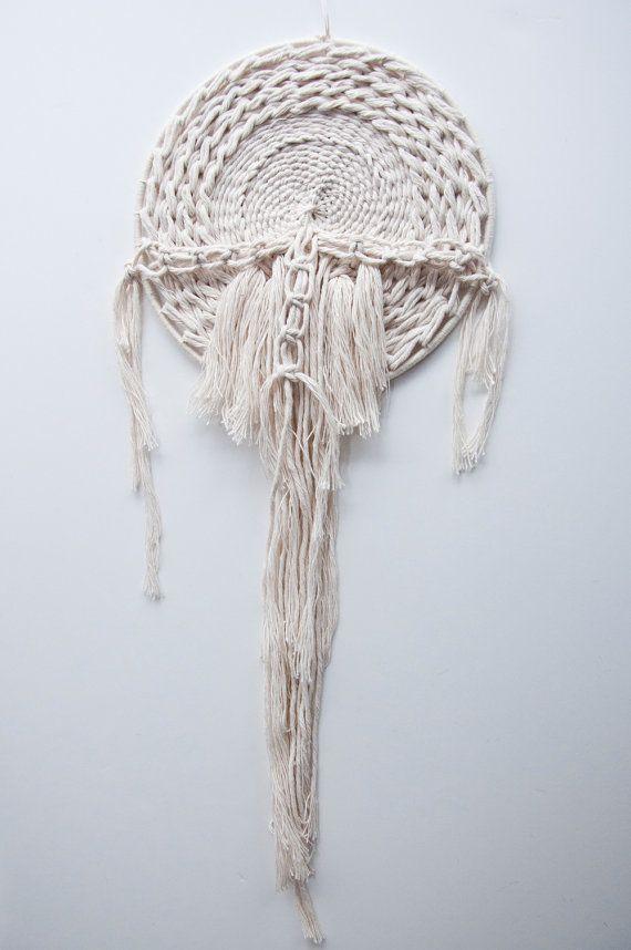 Tejido nudos  Colgante tejido tapiz de pared colgante tejido
