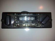 BECKER MEXICO Vintage Radio player for Mercedes w123 w126 r107 w116 Porsche BMW