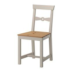 GAMLEBY Chair, light antique stain, gray - IKEA