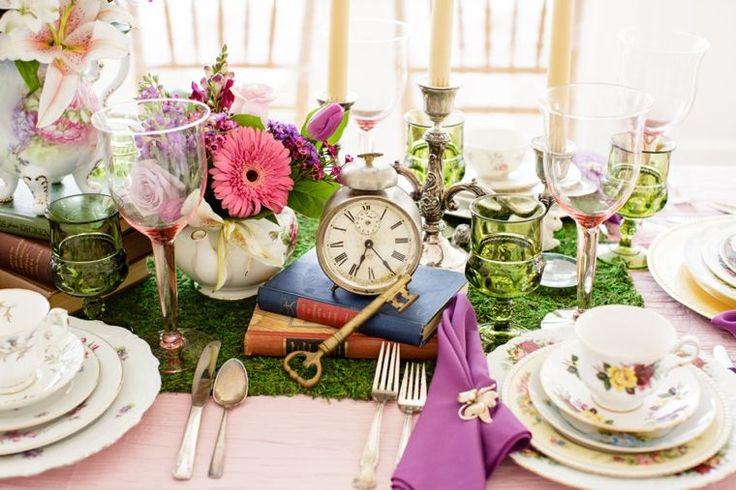Alice In Wonderland Wedding Ideas via TheELD.com