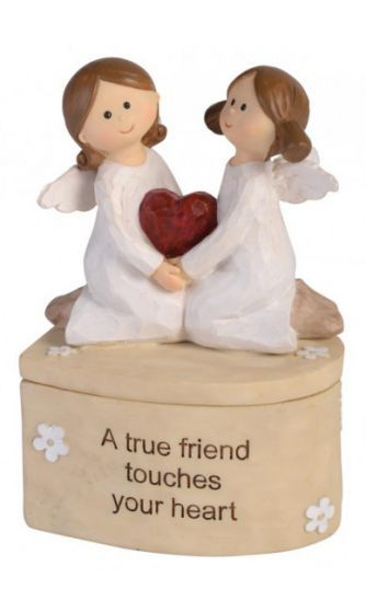 Adoring Angel Trinket Box - True Friend