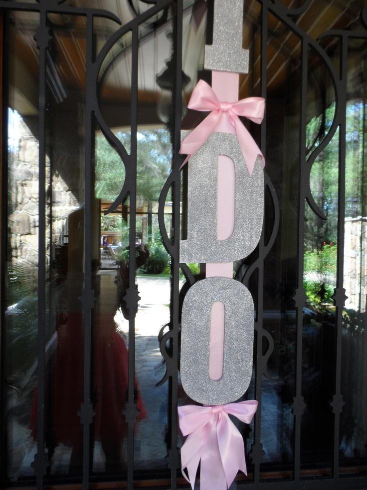 wedding shower centerpieces beach theme%0A Diy i do pink bridal shower decor decorations