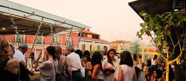 Rooftop Bar at Mercado de San Anton