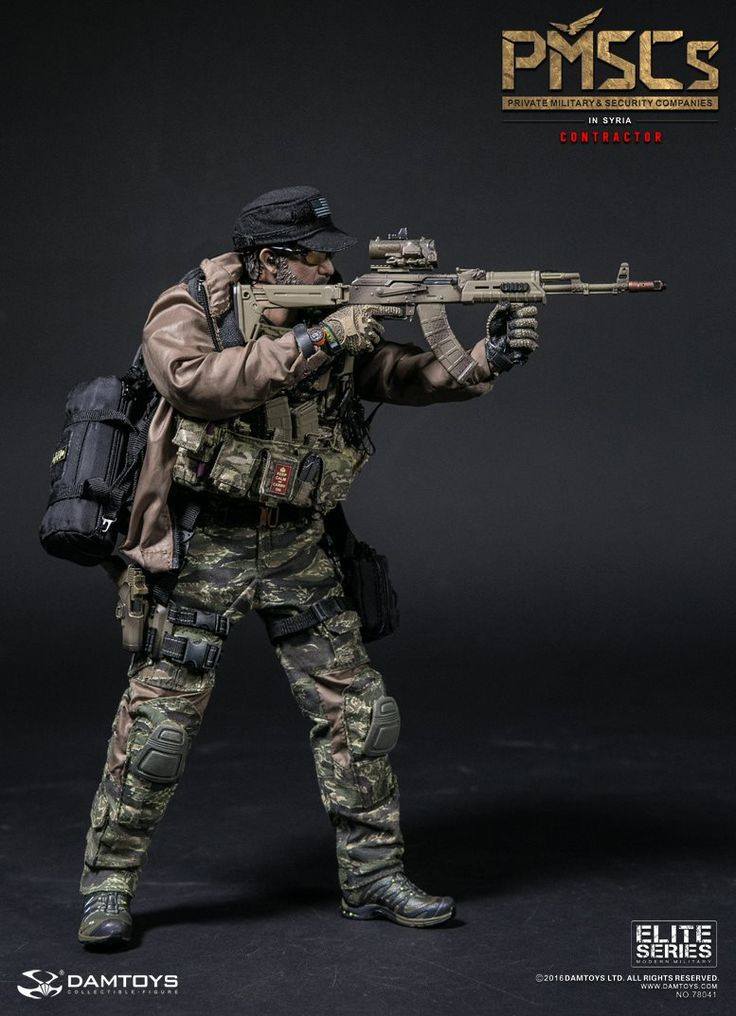 "toyhaven: Dam Toys 1/6th scale PMSCs (Private Military & Security Companies) contractor ""Mel"" in Syria"