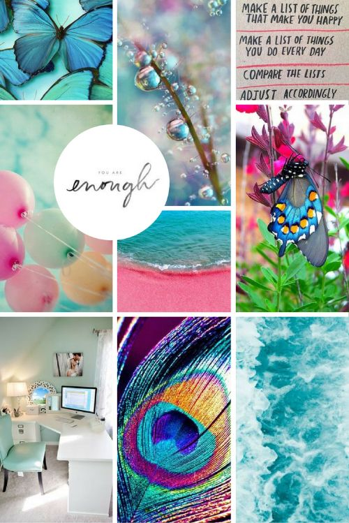 Brand Moodboard for EllieBeth Designs UK | byRosanna