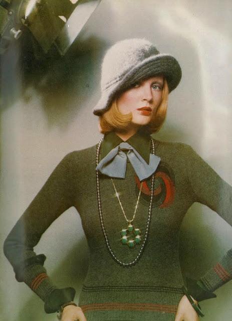 1972 David Bailey jewellery and pearls
