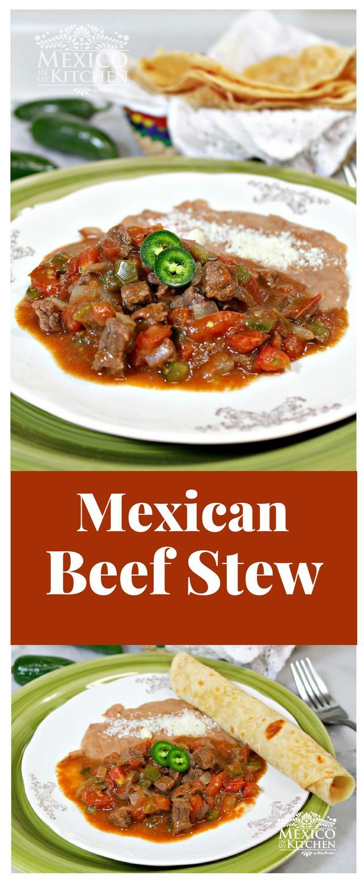"This is a popular dish in the northern states of Nuevo Leonand Coahuila, and it's very similar to the ""carne guisada"" dish made in theborder towns of Texas.#beef #mexican #mexicoinmykitchen #food #homecook"