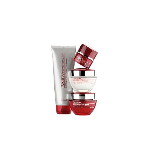 Lote anew reversalist 40+ Avon, luce una piel perfecta y resplandeciente.
