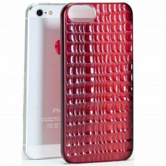 Etui typu Hard Cover (nakładka na klapkę) przeznaczona do Apple iPhone 5. Wykonane z wytrzymałego, elastycznego plastiku. Wykończone w sposób zapewniający pewny chwyt. Precyzyjnie wycięte otwory zapewniają dostęp do wszystkich przycisków i bezproblemowe korzystanie z wbudowanego aparatu.  Produkt w kolorze czerwonym.