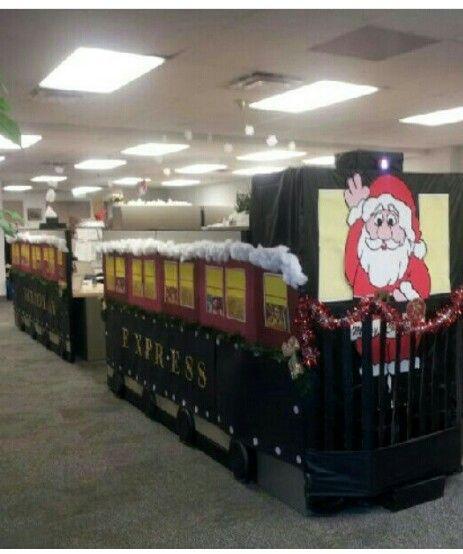 Smyrna Ga Christmas Cubicle Decorations Office