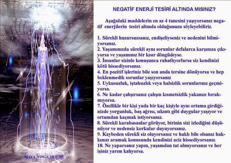 Negatif Enerji tesiri Altında mısınız?