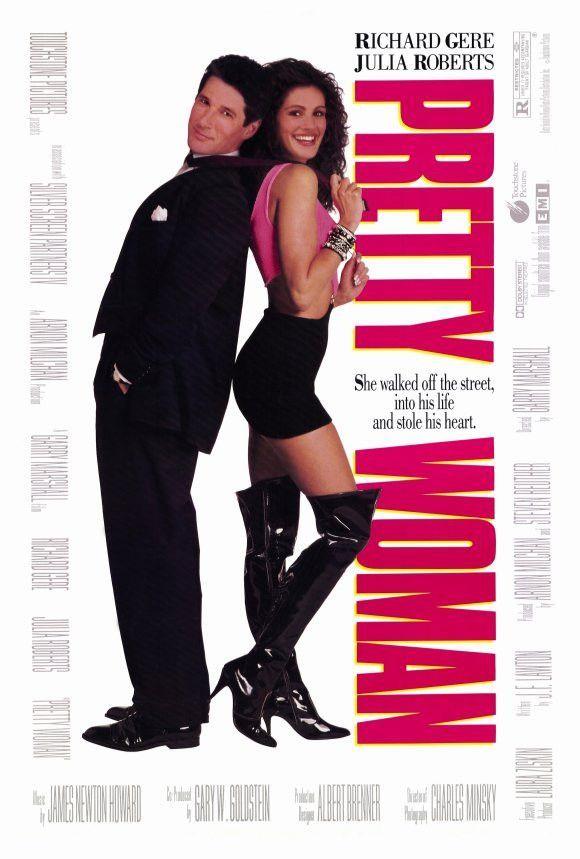 Pretty Woman 27x40 Movie Poster 1990 Richard Gere Pretty Woman Guy Ritchie