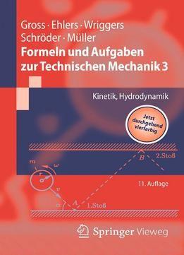 Formeln Und Aufgaben Zur Technischen Mechanik 3: Kinetik Hydrodynamik PDF
