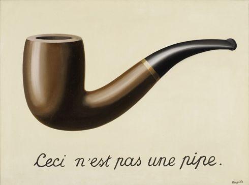 René Magritte, Der Verrat der Bilder, 1928-29