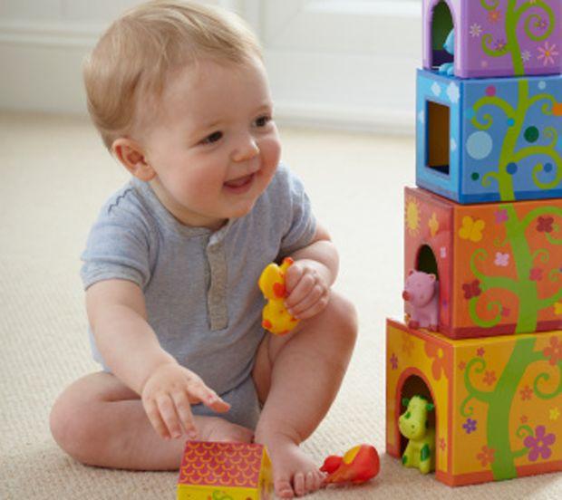 Sentar a los bebés puede ayudarles a aprender