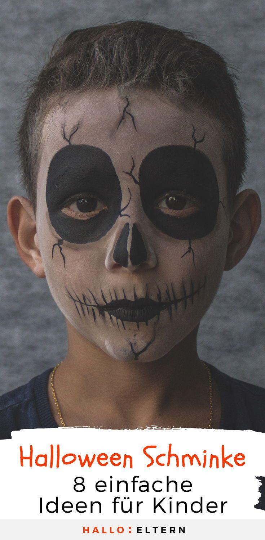 Halloween Schminke: Das können auch Anfänger #halloween #hallowewenmakeup