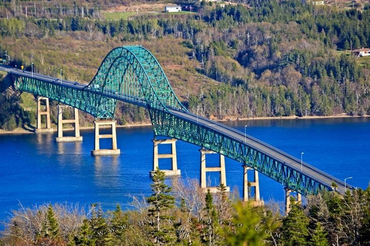 Seal Island Bridge - Nova Scotia, Canada.