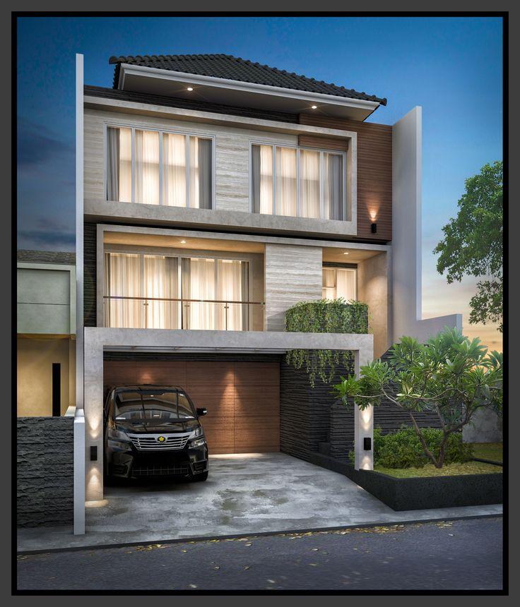 Tropical modern house - Jagakarsa