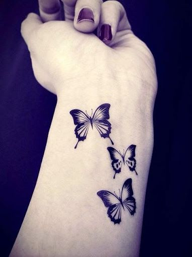 Top 50 Best Butterfly Tattoo Designs And Ideas 2015                                                                                                                                                                                 More