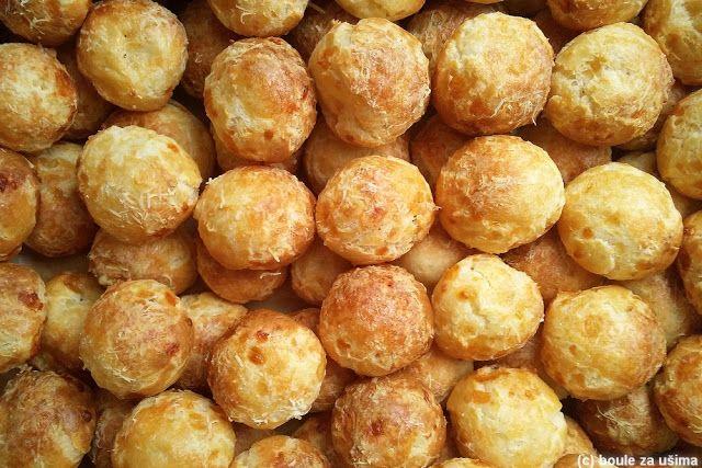 Boule za ušima: Francouzské sýrové kuličky Gougères