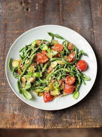 Spinach pici pasta