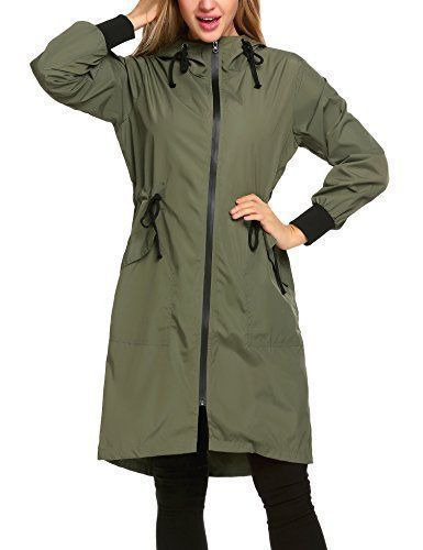 """Product review for Zeagoo Women's Lightweight Waterproof Raincoat With Hood Long Outdoor Hiking Rain Jacket.  - Specifications: Please check your measurements to make sure the item fits before ordering. 1. Use similar clothing to compare with the size. 2. Choose larger sizes if your size are same as the flat measurement Size chart. *Size S——Shoulder 16.9""""—–Sleeve... #RaincoatsForWomenFit #RaincoatsForWomenLongSleeve #RaincoatsForWomenHoods"""